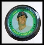 1971 Topps Coins #51  Randy Hundley  Front Thumbnail