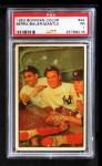 1953 Bowman #44  Mickey Mantle / Yogi Berra / Hank Bauer  Front Thumbnail