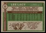 1976 Topps #99  Lee Lacy  Back Thumbnail