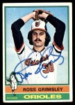 1976 Topps #257  Ross Grimsley  Front Thumbnail