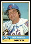 1976 Topps #268  Del Unser  Front Thumbnail
