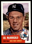 1953 Topps Archives #43  Gil McDougald  Front Thumbnail