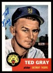 1953 Topps Archives #52  Ted Gray  Front Thumbnail