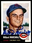 1953 Topps Archives #95  Willard Marshall  Front Thumbnail