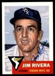 1953 Topps Archives #156  Jim Rivera  Front Thumbnail