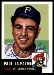 1953 Topps Archives #201  Paul LaPalme  Front Thumbnail