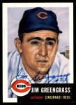 1953 Topps Archives #209  Jim Greengrass  Front Thumbnail
