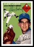 1954 Topps Archives #121  Clem Labine  Front Thumbnail