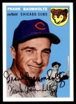 1954 Topps Archives #60  Frank Baumholtz  Front Thumbnail