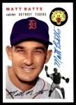1954 Topps Archives #88  Matt Batts  Front Thumbnail