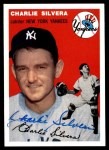 1954 Topps Archives #96  Charlie Silvera  Front Thumbnail