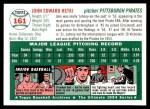 1954 Topps Archives #161  John Hetki  Back Thumbnail