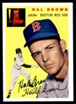 1954 Topps Archives #172  Hal Brown  Front Thumbnail