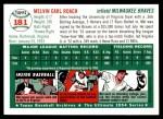 1954 Topps Archives #181  Mel Roach  Back Thumbnail