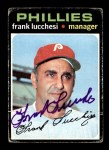 1971 Topps #119  Frank Lucchesi  Front Thumbnail