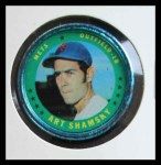 1971 Topps Coins #43  Art Shamsky  Front Thumbnail