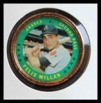 1971 Topps Coins #5  Felix Millan  Front Thumbnail