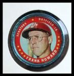 1971 Topps Coins #22  Frank Howard  Front Thumbnail