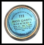 1971 Topps Coins #113  Rico Carty  Back Thumbnail