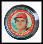1971 Topps Coins #134  Ken Harrelson  Front Thumbnail