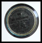 1971 Topps Coins #94  Mel Stottlemyre  Back Thumbnail