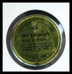 1971 Topps Coins #43  Art Shamsky  Back Thumbnail