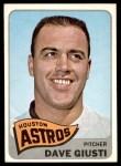 1965 Topps #524  Dave Giusti  Front Thumbnail