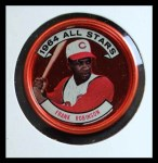 1964 Topps Coins #154   -  Frank Robinson All-Star Front Thumbnail