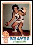 1973 Topps #116  Bob Kauffman  Front Thumbnail