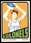 1972 Topps #198  Louie Dampier   Front Thumbnail