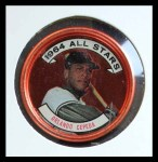 1964 Topps Coins #142   -  Orlando Cepeda All-Star Front Thumbnail