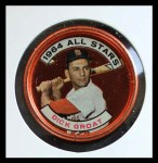 1964 Topps Coins #147   -   Dick Groat All-Star Front Thumbnail