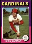1975 Topps #584  Mike Garman  Front Thumbnail