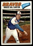 1977 Topps #114  Bruce Dal Canton  Front Thumbnail