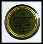 1964 Topps Coins #52   Ken McBride   Back Thumbnail
