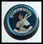 1964 Topps Coins #134   -   Carl Yastrzemski All-Star Front Thumbnail