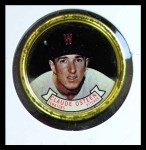 1964 Topps Coins #13   Claude Osteen   Front Thumbnail