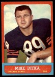 1963 Topps #62  Mike Ditka  Front Thumbnail