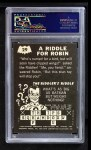 1966 Topps Batman -  Riddler Back #29   Riddle for Robin Back Thumbnail