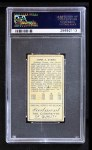 1911 T205  Johnny Evers  Back Thumbnail