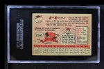 1958 Topps #11 YT Jim Rivera  Back Thumbnail