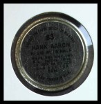 1964 Topps Coins #83   Hank Aaron   Back Thumbnail