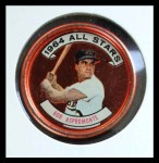 1964 Topps Coins #163   -  Bob Aspromonte All-Star Front Thumbnail