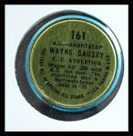 1964 Topps Coins #161 AL  -  Wayne Causey All-Star Back Thumbnail
