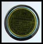 1964 Topps Coins #125   -   Brooks Robinson All-Star Back Thumbnail