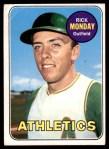 1969 Topps #105  Rick Monday  Front Thumbnail