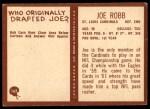 1967 Philadelphia #162  Joe Robb  Back Thumbnail