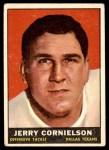 1961 Topps #135  Jerry Cornelison  Front Thumbnail