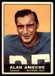 1961 Topps #3  Alan Ameche  Front Thumbnail