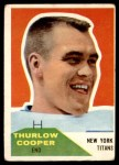 1960 Fleer #72  Thurlow Cooper  Front Thumbnail